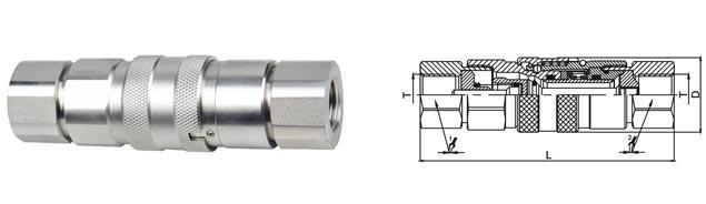 БРС FlatFace комплект нержавеющая сталь