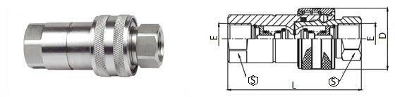 БРС ISO-B комплект нержавеющая сталь