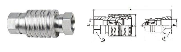 БРС ISO-M с внутр. резьбой комплект