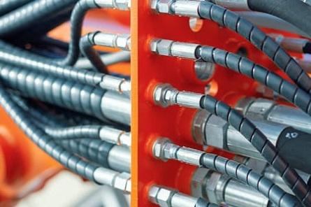 Защитная спираль для рукавов высокого давления